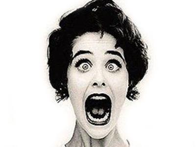Vystrašená žena