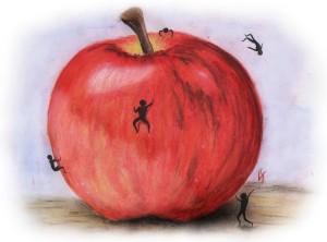 Na jabku