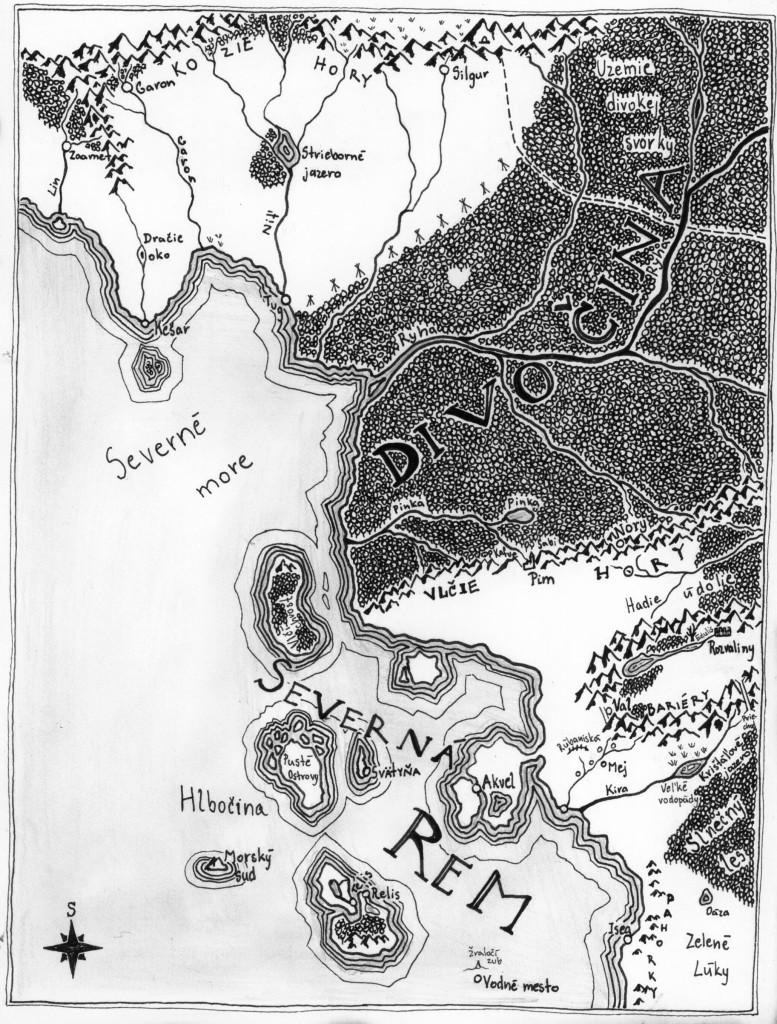 Mapa po Rem